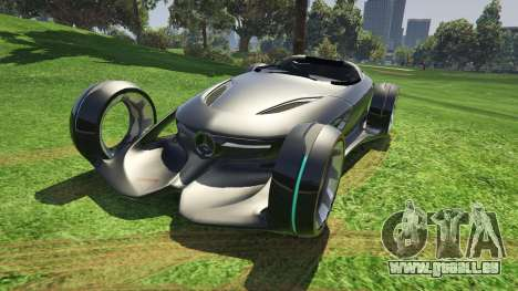 Mercedes-Benz Silver Lightning - Add-on pour GTA 5