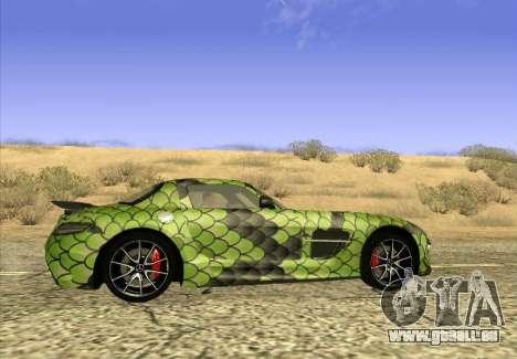 Mercedes-Benz SLS AMG Snake pour GTA San Andreas laissé vue
