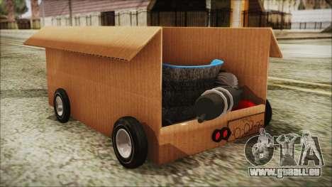 Kart-Box pour GTA San Andreas laissé vue