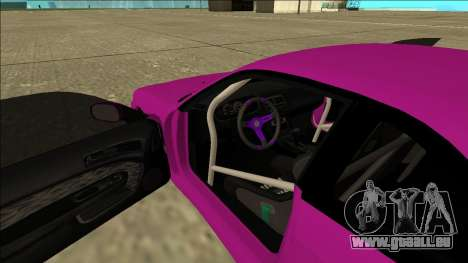 Nissan Silvia S14 Drift pour GTA San Andreas vue de dessus