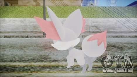 Fennekin Shiny (Pokemon XY) für GTA San Andreas dritten Screenshot