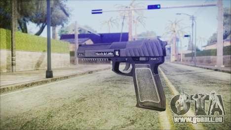 GTA 5 Pistol .50 v2 - Misterix 4 Weapons für GTA San Andreas zweiten Screenshot