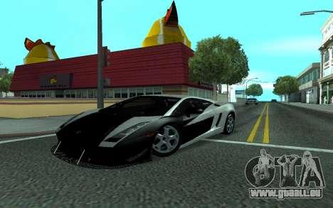 Lamborghini Gallardo Tunable für GTA San Andreas Seitenansicht