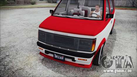GTA 5 Declasse Moonbeam Bobble Version IVF pour GTA San Andreas vue de droite