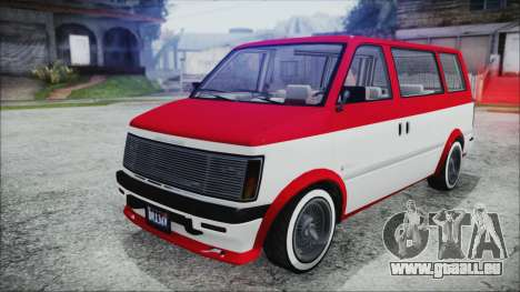 GTA 5 Declasse Moonbeam Bobble Version IVF pour GTA San Andreas