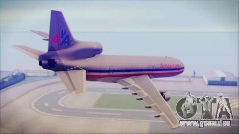 Lockheed L-1011 Tristar American Airlines für GTA San Andreas linke Ansicht