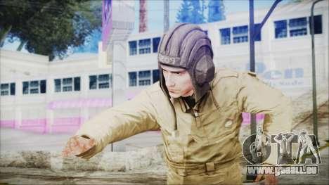 World In Conflict Tank Crewman für GTA San Andreas