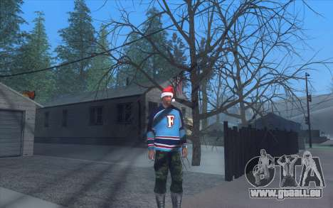 Winter Vacation 2.0 SA-MP Edition pour GTA San Andreas quatrième écran