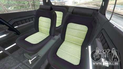 GTA 5 Holden Monaro GTS droite vue latérale