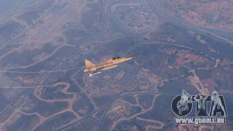 GTA 5 Northrop F-5E Tiger II USA dixième capture d'écran