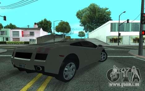 Lamborghini Gallardo Tunable für GTA San Andreas linke Ansicht