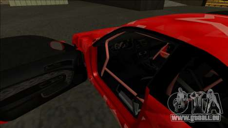Nissan Silvia S14 Drift Red Star für GTA San Andreas Innen
