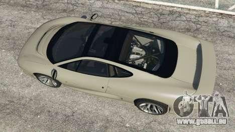 GTA 5 Jaguar XJ220 v1.2 vue arrière