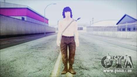 Rambo pour GTA San Andreas deuxième écran