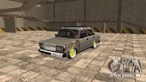 VAZ 2107 JDM pour GTA San Andreas