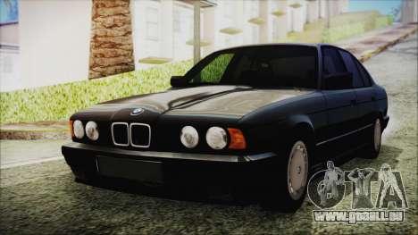 BMW 525i E34 1992 pour GTA San Andreas