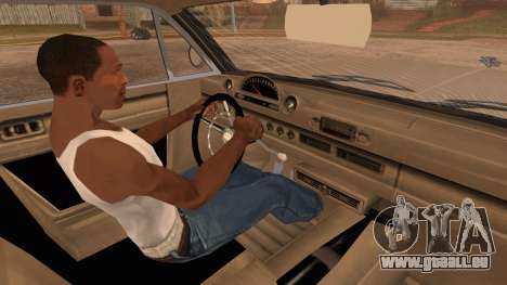 GTA 5 Declasse Clean Voodoo Hydra Version IVF pour GTA San Andreas vue de droite