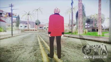 Skin DLC Executive Xmas für GTA San Andreas dritten Screenshot