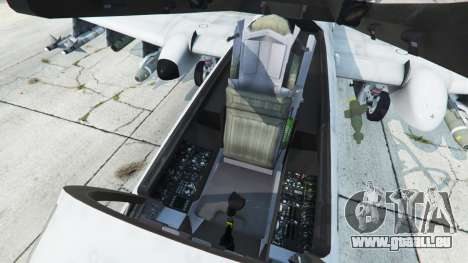 GTA 5 Fairchild Republic A-10A Thunderbolt II v1.2 sechster Screenshot