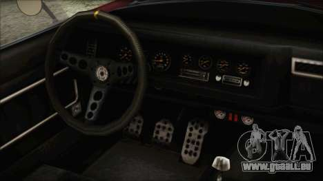 GTA 5 Declasse Mamba IVF für GTA San Andreas rechten Ansicht