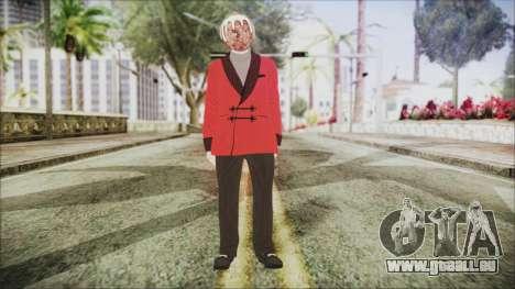 Skin DLC Executive Xmas für GTA San Andreas zweiten Screenshot