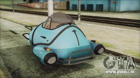 Fallout 4 Fusion Flea für GTA San Andreas rechten Ansicht