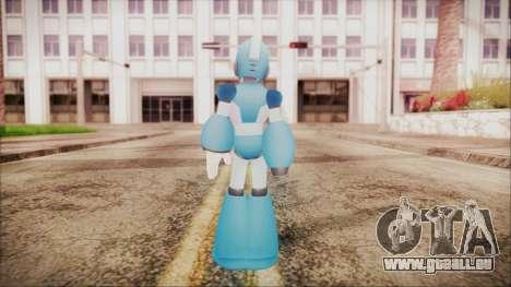 Marvel vs Capcom 3 Megaman pour GTA San Andreas troisième écran