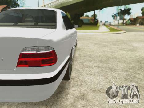 BMW 750i für GTA San Andreas obere Ansicht