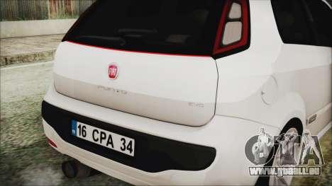 Fiat Punto pour GTA San Andreas vue de droite