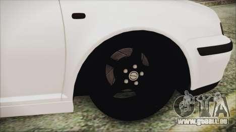 Volkswagen Golf 4 Romanian Edition für GTA San Andreas zurück linke Ansicht