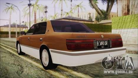 Toyota Crown Royal Saloon 1994 pour GTA San Andreas laissé vue