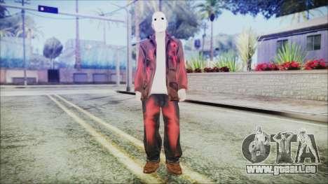 Jason Voorhes pour GTA San Andreas deuxième écran