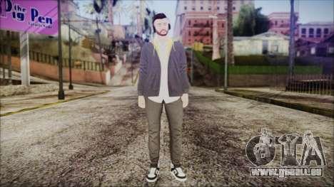 GTA Online Skin 13 pour GTA San Andreas deuxième écran