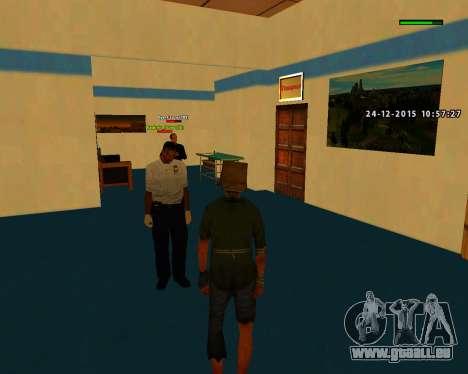 Gute Qualität bauen skins MES für GTA San Andreas zweiten Screenshot