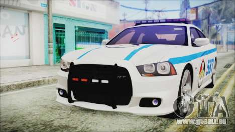Dodge Charger SRT8 2012 Iraqi Police für GTA San Andreas