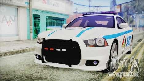Dodge Charger SRT8 2012 Iraqi Police pour GTA San Andreas