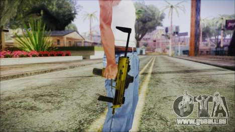 Point Blank MP7 Gold Special für GTA San Andreas dritten Screenshot