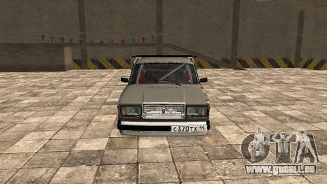 VAZ 2107 JDM für GTA San Andreas linke Ansicht