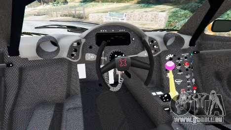 GTA 5 McLaren F1 GTR Longtail hinten rechts
