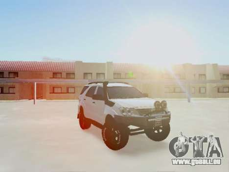 Toyota Fortuner 2012 TRD Off-Road pour GTA San Andreas