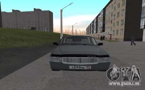 GAZ de 31029 Volga pour GTA San Andreas laissé vue