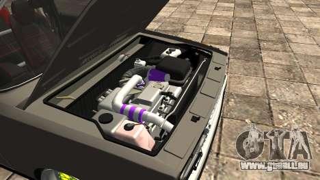 VAZ 2107 JDM pour GTA San Andreas vue intérieure