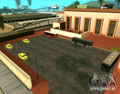 Les véhicules en stationnement pour GTA San Andreas