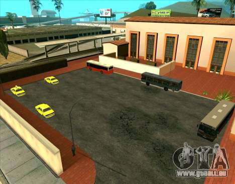 Parkende Fahrzeuge für GTA San Andreas