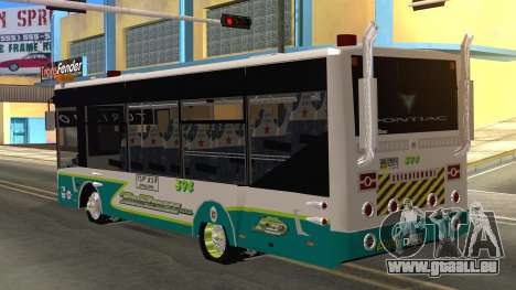 Lazcity Midibus Stylo Colombia für GTA San Andreas linke Ansicht