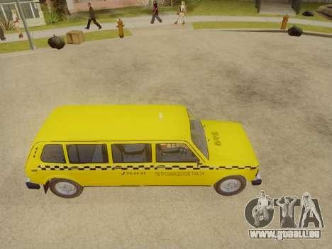 VAZ 2131 7-Porte de Taxi pour GTA San Andreas vue de droite