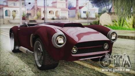 GTA 5 Declasse Mamba IVF für GTA San Andreas