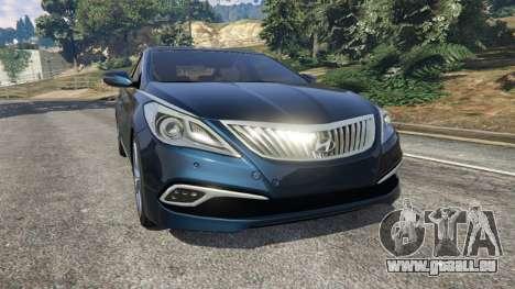 Hyundai Grandeur 2016 pour GTA 5
