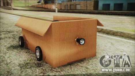 Kart-Box für GTA San Andreas rechten Ansicht