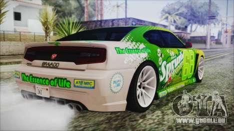 GTA 5 Bravado Buffalo Sprunk für GTA San Andreas linke Ansicht